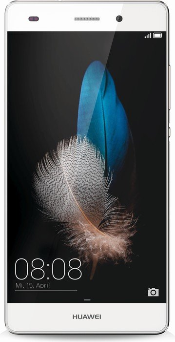 Huawei P8 Lite Single-SIM weiß/gold