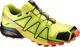 Salomon Speedcross 4 GTX sulphur spring/lime green/flame (Herren) (392396)