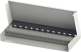 Telegärtner patch panel DataVoice MPD24-HS K Cat6A pure white, 24-port (J02023A0053)