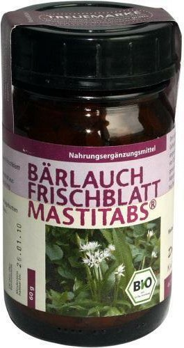 wild garlic Frischblatt Mastitabs tablets, 160 pieces