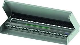 Telegärtner patch panel DataVoice MPD24 AMJ/UMJ incl. cable strain relief pure white, 24-port (H02025A0260)