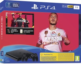 Sony PlayStation 4 Slim - 1TB inkl. 2 Controller FIFA 20 Bundle schwarz (9976103)
