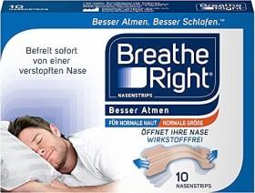GlaxoSmithKline Otriven Besser Atmen Nasenstrips normale Größe beige, 10 Stück