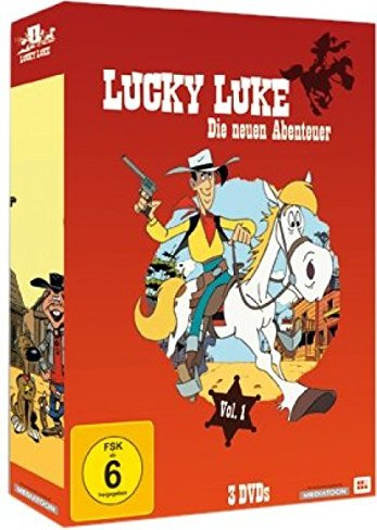 Lucky Luke - Die Serie Vol. 1 (Folgen 1-2) -- via Amazon Partnerprogramm