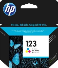 HP Druckkopf mit Tinte 123 dreifarbig (F6V16AE)