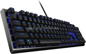 Thunder X3 TK50, schwarz, LEDs blau, Kailh RED, USB, DE (TK50-DE)