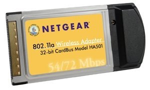 Netgear HA501 802.11a Wireless LAN Adapter