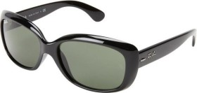 Ray-Ban RB4101 Jackie Ohh 58mm black/green (ladies) (RB4101-601)