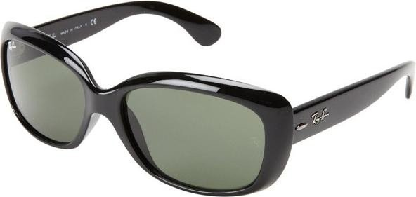 Ray Ban Ray-Ban 0RB4101 JACKIE OHH 601/58 Schwarz Gr. 58/17 (mit Sehstärke) 1IcqKxNF9