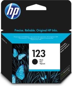 HP Druckkopf mit Tinte 123 schwarz (F6V17AE)