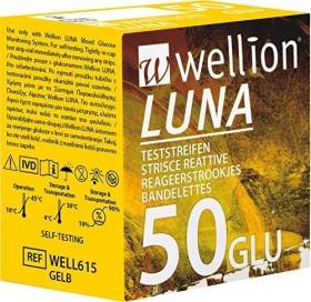 Wellion Luna GLU Blutzucker-Teststreifen, 50 Stück