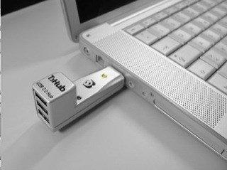 Dr. Bott T3Hub USB-Hub, 3x USB-A 3.0, USB-A 2.0 [Stecker] (13290)