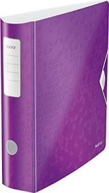 Leitz Qualitäts-Ordner 180° Active WOW 82mm, violett metallic (11060062)