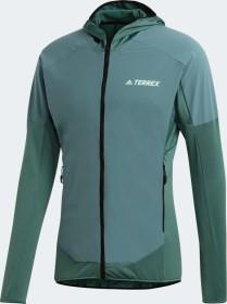 adidas Terrex Skyclimb Fleecejacke tech emerald (Herren) (GD1167)