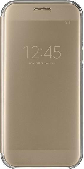 Samsung Clear View Cover für Galaxy A5 (2017) gold (EF-ZA520CFEGWW)