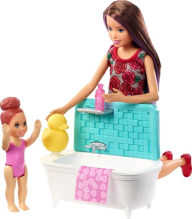Mattel Barbie Skipper Babysitters Inc Puppe Und Bad Spielset