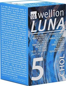 Wellion Luna CHOL Cholesterin-Teststreifen, 5 Stück