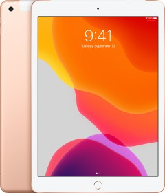 """Apple iPad 10.2"""" 128GB, LTE, gold - 7. Generation / 2019 (MW6G2FD/A / MW722LL/A)"""