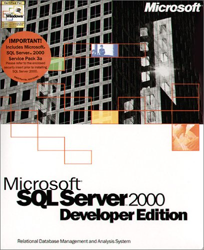 Microsoft: SQL 2000 Developer Edition (English) (PC) (E32-00004) -- via Amazon Partnerprogramm