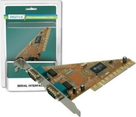 Digitus DS-33001, 2x seriell, PCI