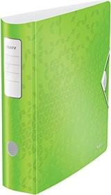 Leitz Qualitäts-Ordner 180° Active WOW 82mm, grün metallic (11060064)