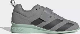 adidas Adipower 2 grey three/core black/green tint (Herren) (EG1215)