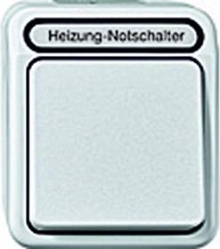 Merten Aquastar Heizungs-Notschalter, polarweiß (MEG3448-8019)