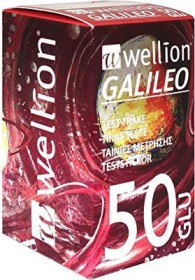 Wellion Galileo GLU Blutzucker-Teststreifen, 50 Stück