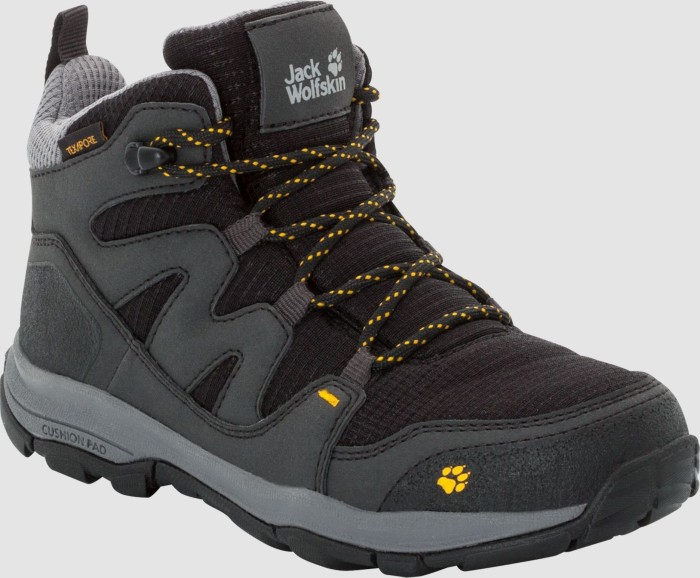 more photos 4e112 697f3 Jack Wolfskin MTN Attack 3 Texapore Mid burly yellow (Junior)  (4034081-3802) ab € 46,74
