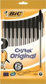 BIC Cristal Original, 0.4mm schwarz, 10er-Pack (830864)