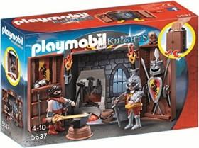 playmobil Knights - Aufklapp-Spiel-Box Ritterschmiede (5637)