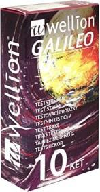Wellion Galileo KET Keton-Teststreifen, 10 Stück