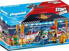 playmobil Stuntshow - Werkstattzelt (70552)