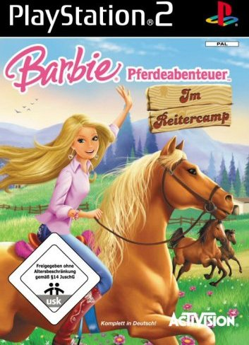 Barbie: Pferdeabenteuer (German) (PS2) -- via Amazon Partnerprogramm