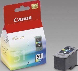 Canon CL-51 Tinte farbig (0618B001)