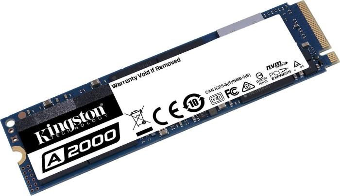 Bild von Kingston A2000 NVMe PCIe SSD   1TB, M.2 (SA2000M8/1000G)