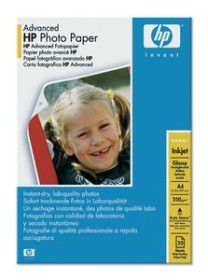 HP advanced photo paper glossy, A4, 250g/m², 25 sheets (Q5456A)