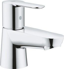 """Grohe BauEdge one-hand-bathroom sink tap 1/2"""" XS-Size chrome (20421000)"""