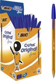 BIC Cristal Original fine, 0.35mm blau, 50er-Pack (872730)
