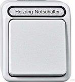 Merten Aquastar Heizungs-Notschalter 2-polig, polarweiß (MEG3449-8019)