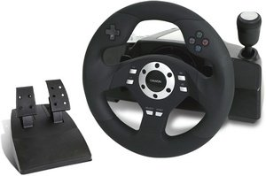Canyon CNG-GW3 Gaming Wheel, USB (PC/PS2/PS3)