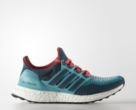 adidas Ultra Boost clear green/mineral/shock red (Junior) (S74504)