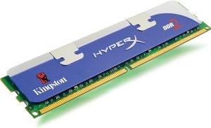 Kingston HyperX DIMM 1GB, DDR2-800, CL5-5-5-15 (KHX6400D2/1G)