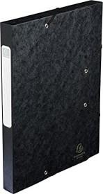 Exacompta Archivbox Cartobox A4, 40mm, schwarz (14016H)