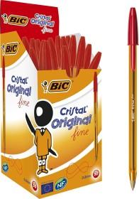 BIC Cristal Original fine, 0.35mm rot, 50er-Pack (872720)