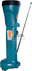 Makita ML141 rechargeable battery-work light with radio function