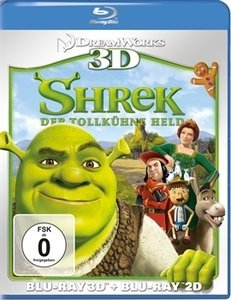 Shrek - Der tollkühne Held (3D) (Blu-ray)