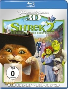 Shrek 2 (3D) (Blu-ray)