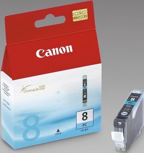 Canon CLI-8PC Tinte cyan photo (0624B001)