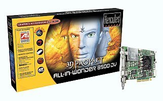 Guillemot / Hercules 3D Prophet All-In-Wonder Radeon 8500DV, 64MB DDR, DVI, TV-out, tuner TV, 2x FireWire, AGP, retail (4780185)